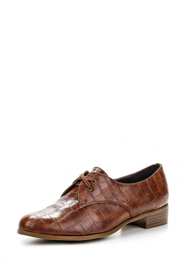 Ботинки Zenden Woman 25-24WG-081ST коричневые