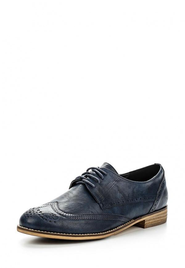 Ботинки Zenden Woman 46-26WG-001ST синие