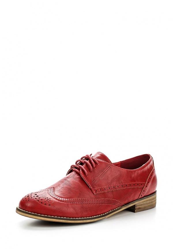 Ботинки Zenden Woman 46-26WG-003ST красные