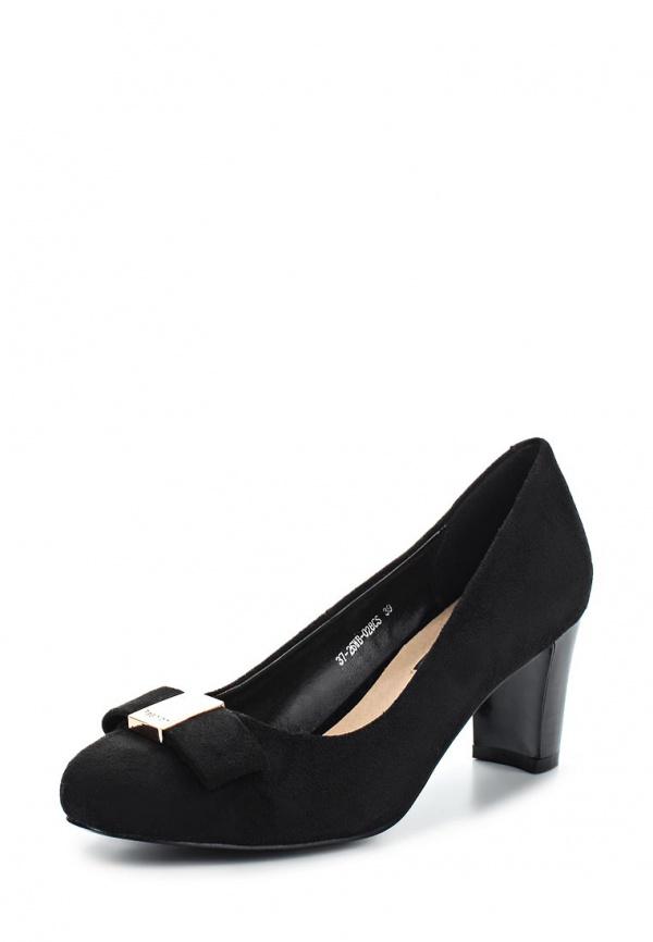 Туфли Zenden Woman 37-26WB-028CS чёрные