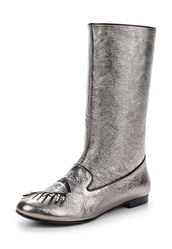 Сапоги Grand Style 13278-4545 серебристые