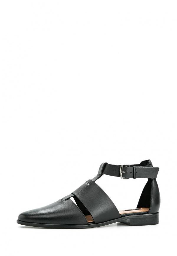 Туфли Mango 44015002 чёрные