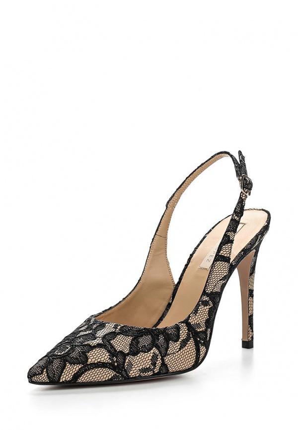 Туфли Pura Lopez ZAAF164 бежевые, чёрные