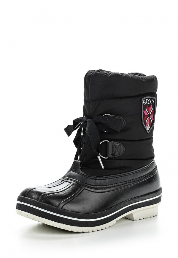 Дутики Roxy WTWSL113 чёрные