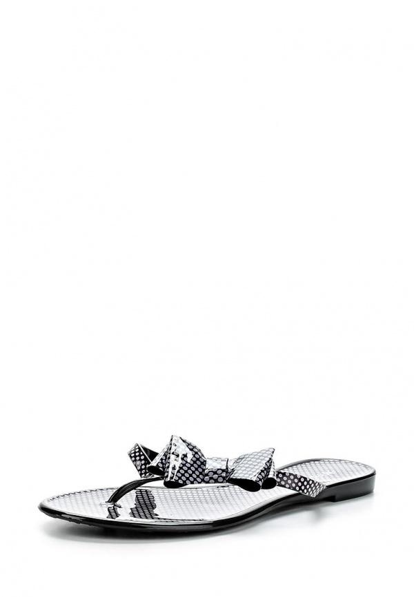 Сланцы Mon Ami S-5098 белые, чёрные