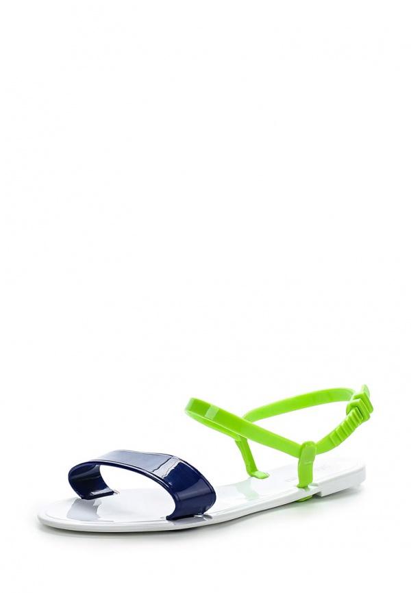 Сандалии Mon Ami S-5110 белые, зеленые, синие