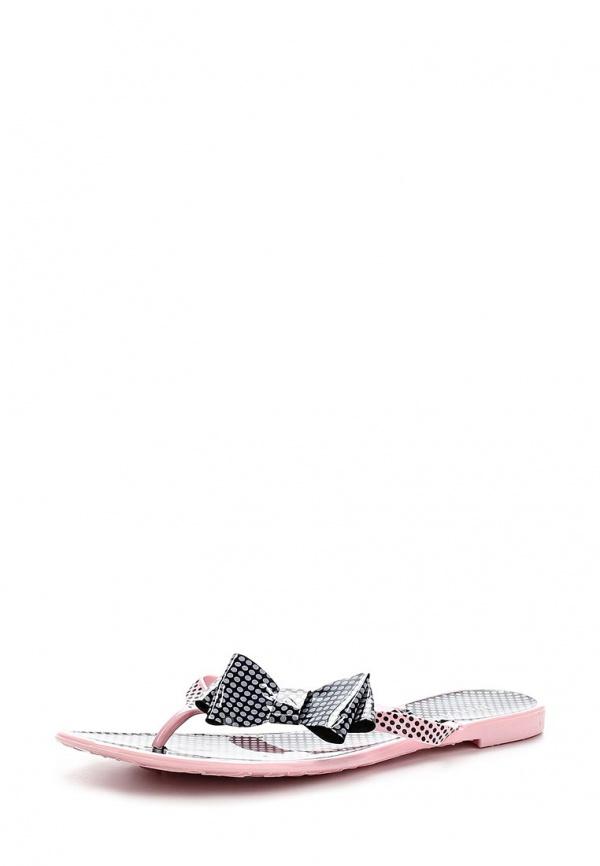 Сланцы Mon Ami S-5098 розовые, чёрные