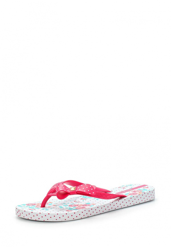 Сланцы Ipanema 81563-20755-A белые, розовые