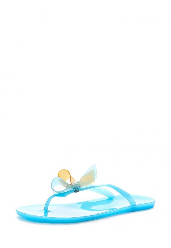 Сланцы Mon Ami 15S-4902 голубые
