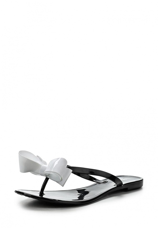 Сланцы Mon Ami S-5094 белые, чёрные