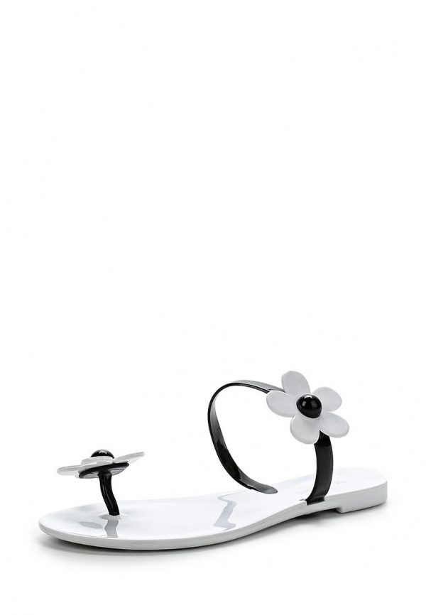 Сланцы Mon Ami S-5300 белые, чёрные