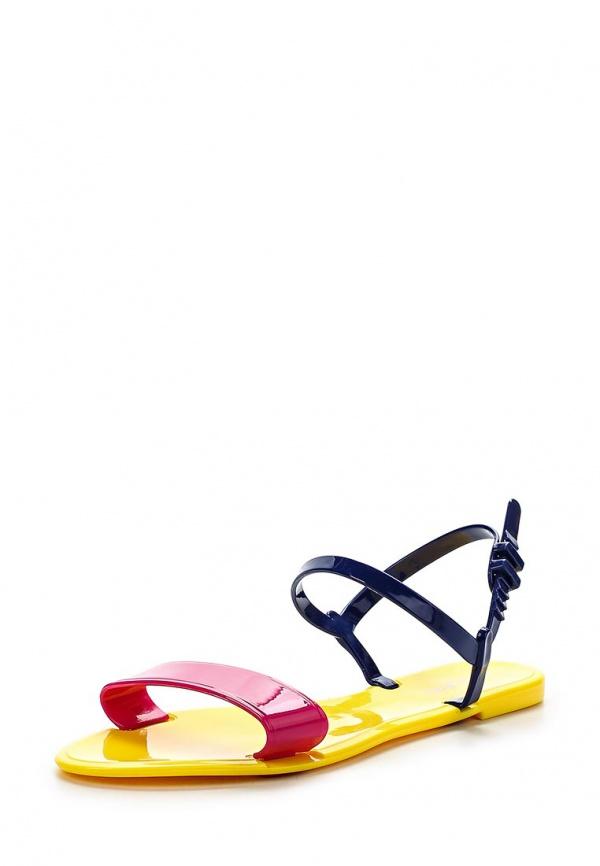 Сланцы Mon Ami S-5110 жёлтые, синие, фуксия