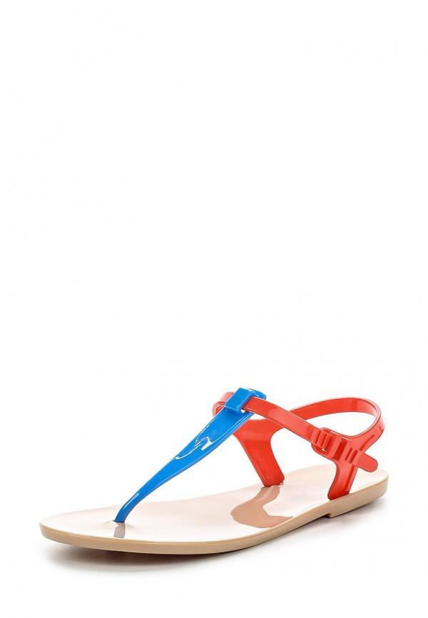 Сандалии Mon Ami S-5177 бежевые, голубые, розовые