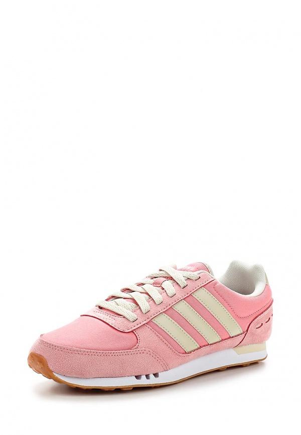 Кроссовки adidas Neo F97673 розовые