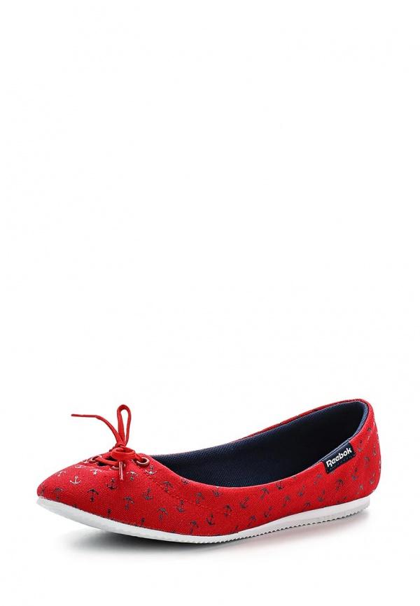Балетки Reebok M46014 красные