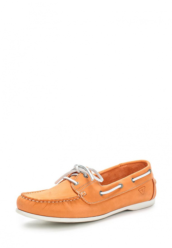 Топсайдеры Tamaris 1-1-23618-24-563 оранжевые