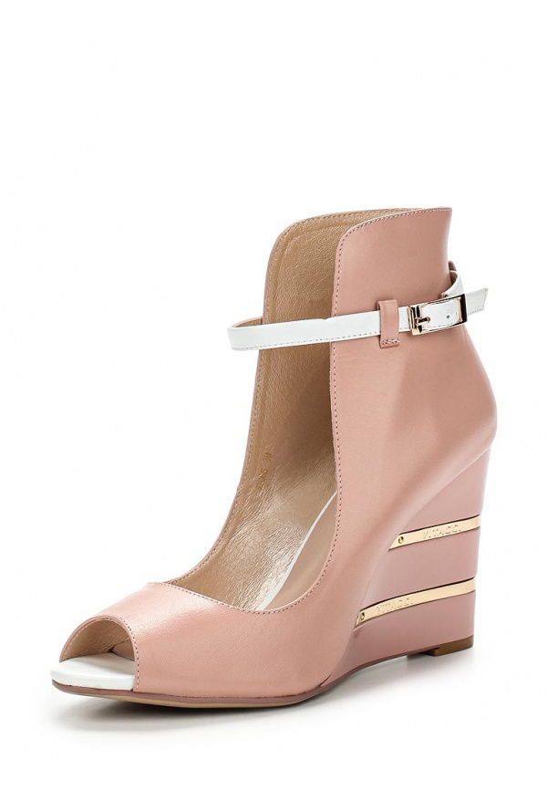 Туфли Vitacci 73066 золотистые, розовые