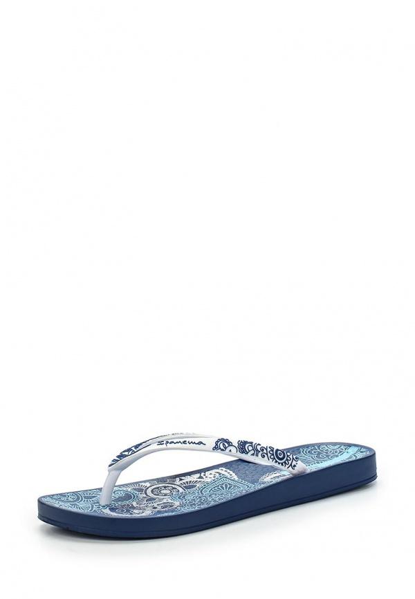 Сланцы Ipanema 81453-20247-A белые, синие