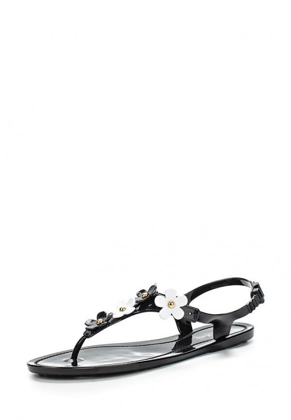 Сандалии Mon Ami S-5284 белые, чёрные