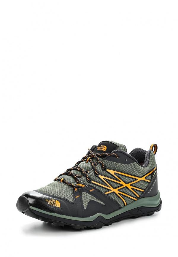 Кроссовки North Face T0CDG3ARR зеленые, чёрные