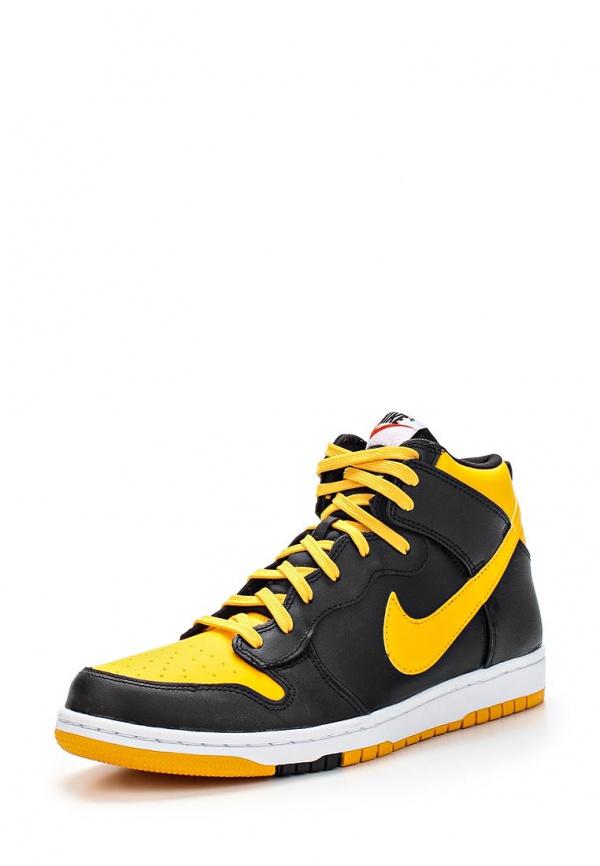 Кеды Nike 705434-700 жёлтые, чёрные