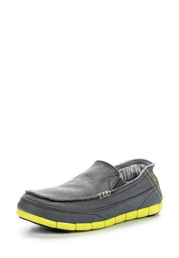 Мокасины Crocs 14773-00T серые