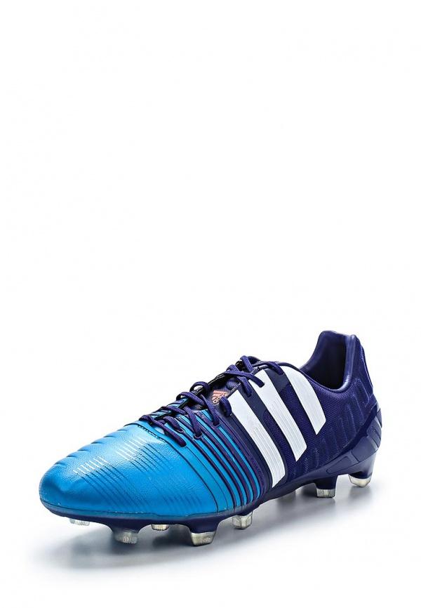 Бутсы adidas Performance M19052 синие