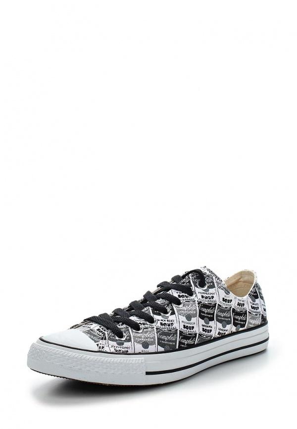 Кеды Converse 147054 белые, чёрные