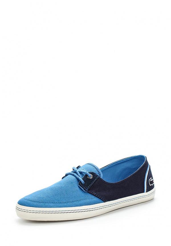 Кеды Lacoste SRM2133PT2 голубые, синие