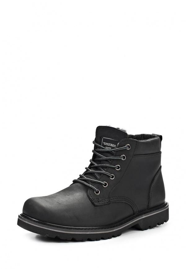 Ботинки Patrol 556-185-1-1 чёрные