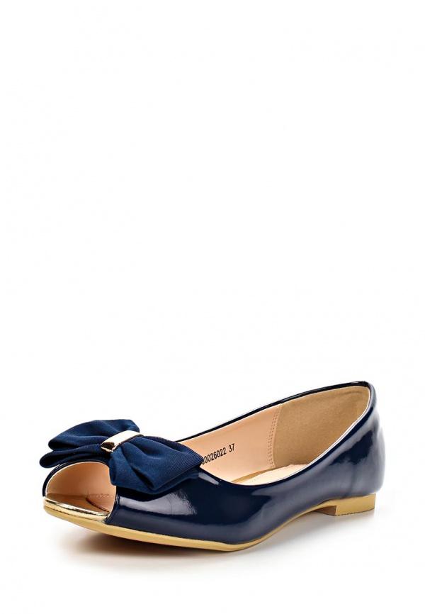 Балетки T.Taccardi for Kari 26022 синие