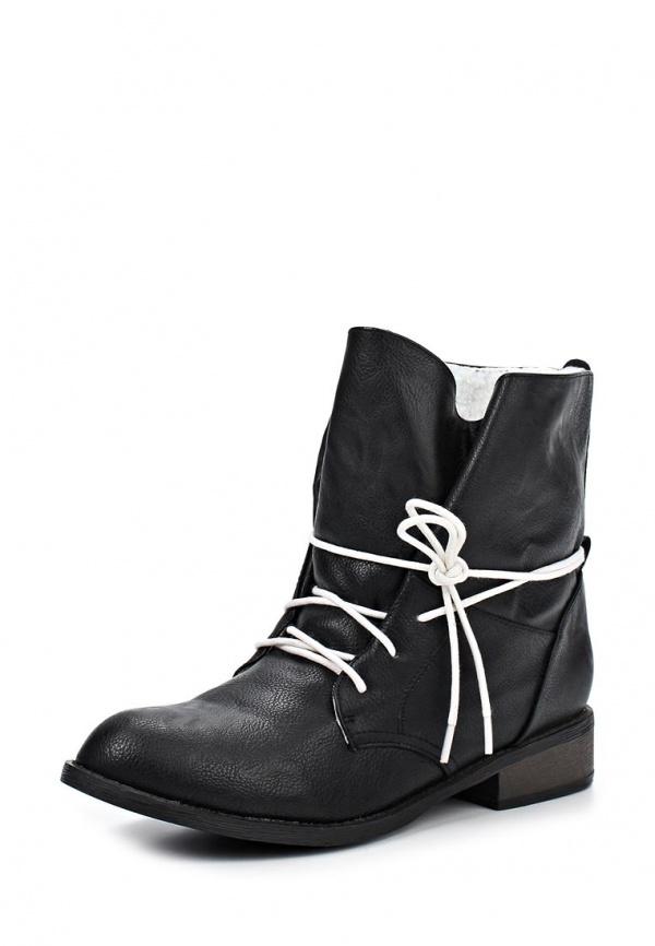Ботинки Kira Plastinina 16-60-16370-AC чёрные