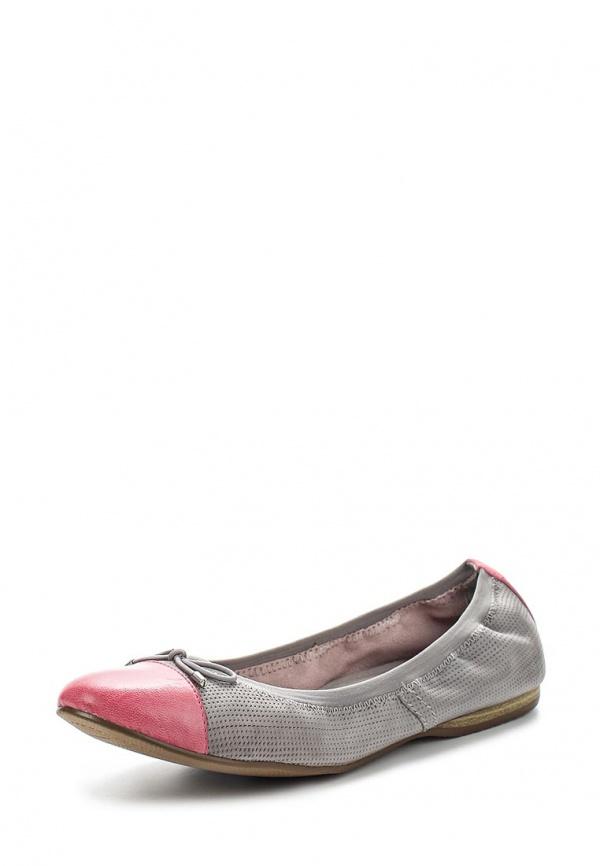 Балетки Tamaris 1-1-22129-24-255 розовые, серые