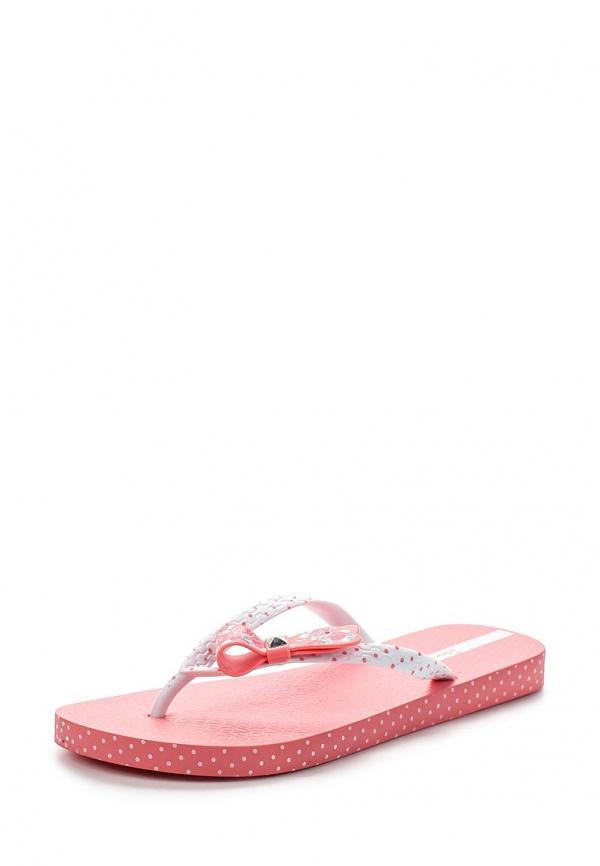 Сланцы Ipanema 81563-21977-A белые, розовые