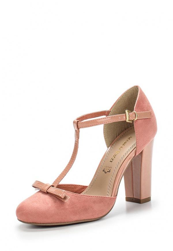 Туфли Marco Tozzi 2-2-24415-24-535 розовые