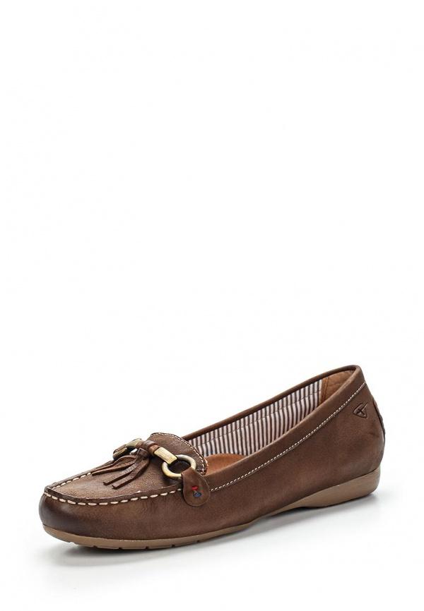 Мокасины Tamaris 1-1-24616-24-311 коричневые