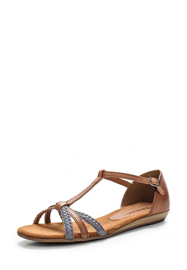 Сандалии Tamaris 1-1-28137-24-437 коричневые, синие