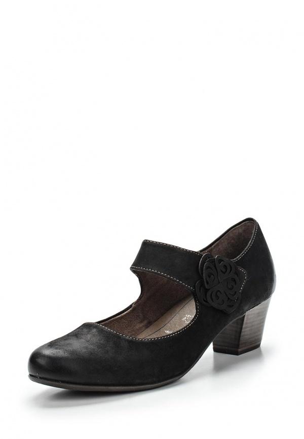 Туфли Tamaris 1-1-24410-24-001 чёрные