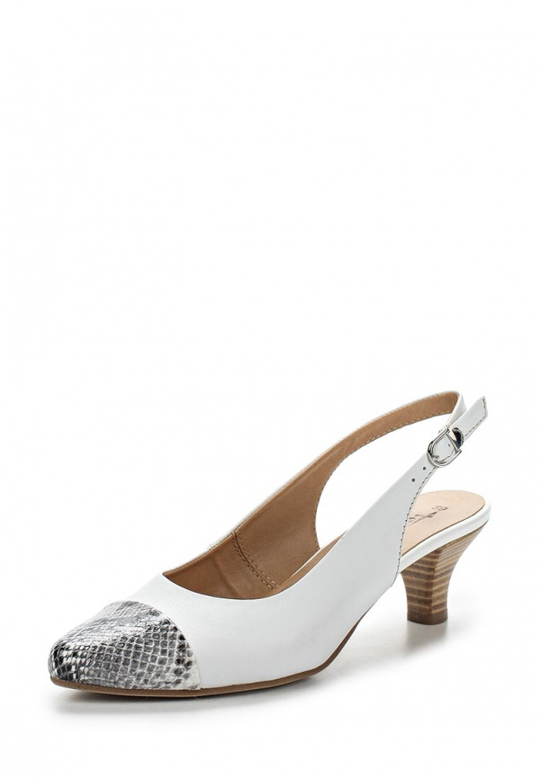 Туфли Tamaris 1-1-29501-24-119 белые