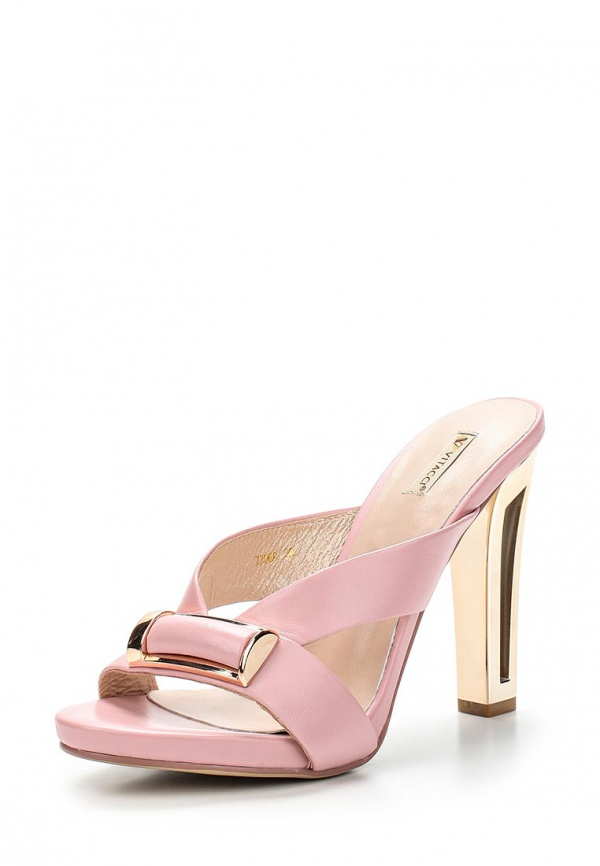 Сабо Vitacci 73060 золотистые, розовые