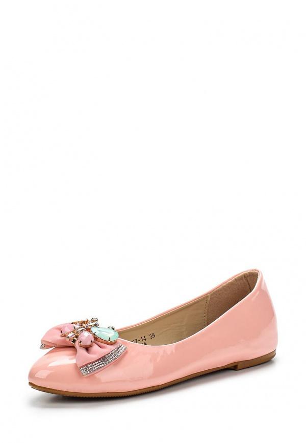 Балетки Vivian Royal J-012-18 розовые
