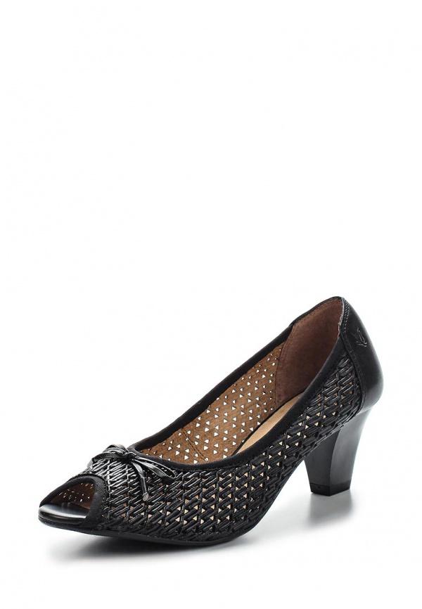 Туфли Caprice 9-9-29301-24-001 чёрные