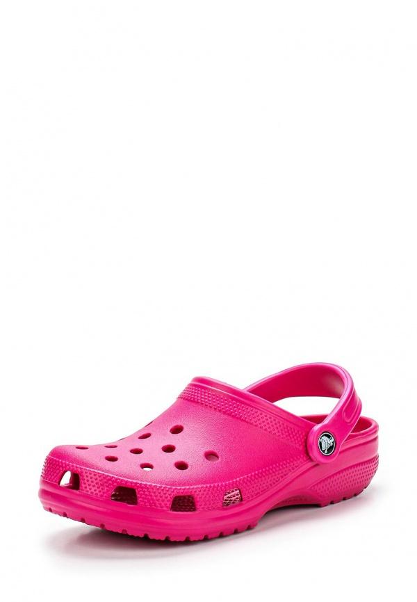 Сабо Crocs 10001-6X0 фуксия