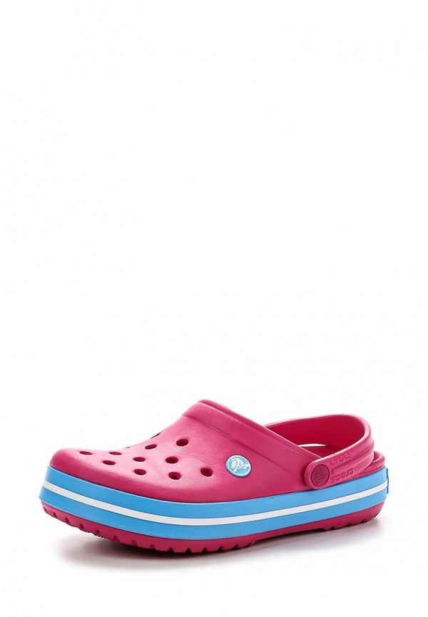 Сабо Crocs 11016-6EF розовые