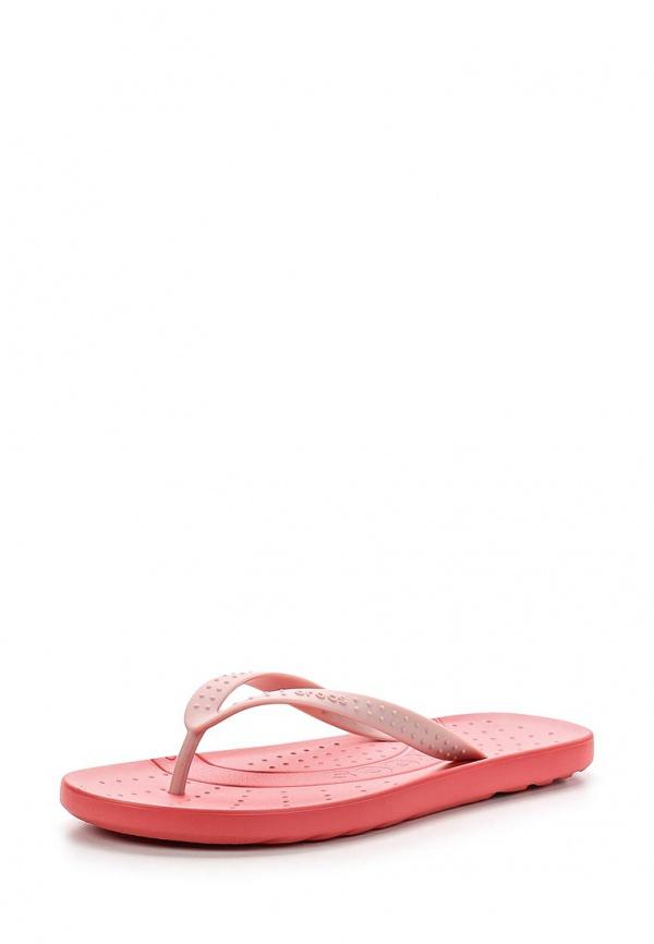 Сланцы Crocs 15963-6FD розовые