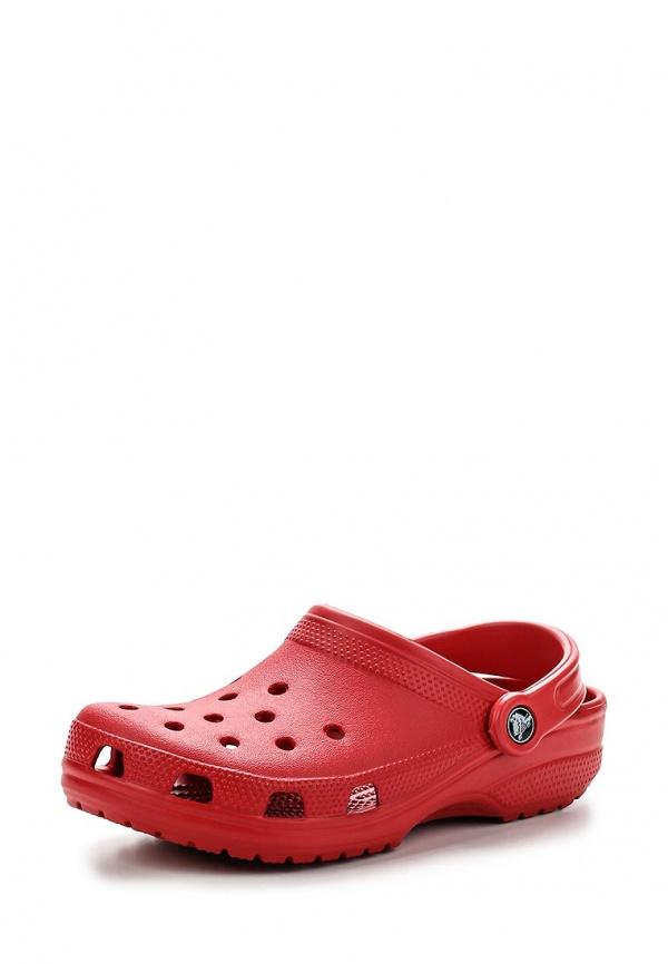 Сабо Crocs 10001-6EN красные