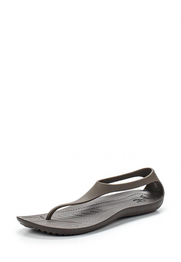Сандалии Crocs 11354-22Z коричневые