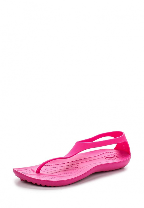 Сандалии Crocs 11354-6X3 розовые