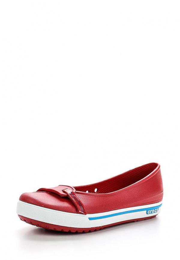 Балетки Crocs 12333-6EP красные