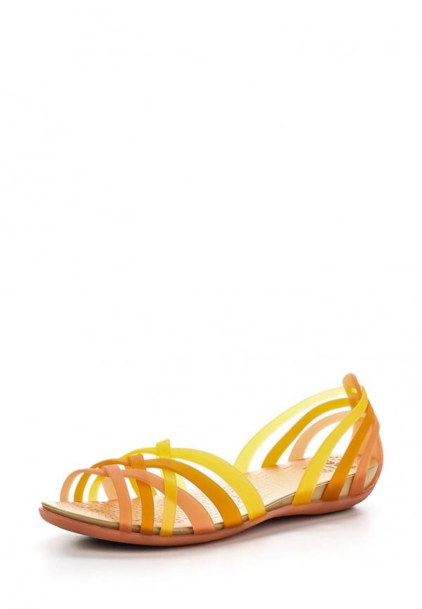 Сандалии Crocs 14121-6AU оранжевые